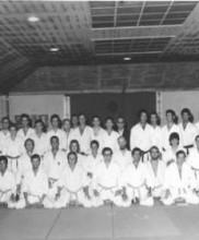4 – Primeiro estágio de Karate-do dirigido pelo Mestre Tetsuji Murakami, Academia de Budo, 1971