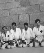 O Dr. Pires Martins no Bushidokan, Porto, 1967