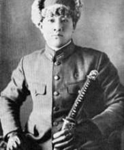 Mestre Masaami Shirooka em Traje Militar 2